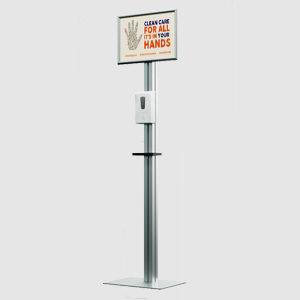 Automatisk handspritdispenser – Fristående golv